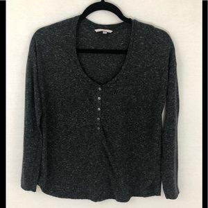 ❤️ 3/20 Victoria's Secret Gray long sleeved top